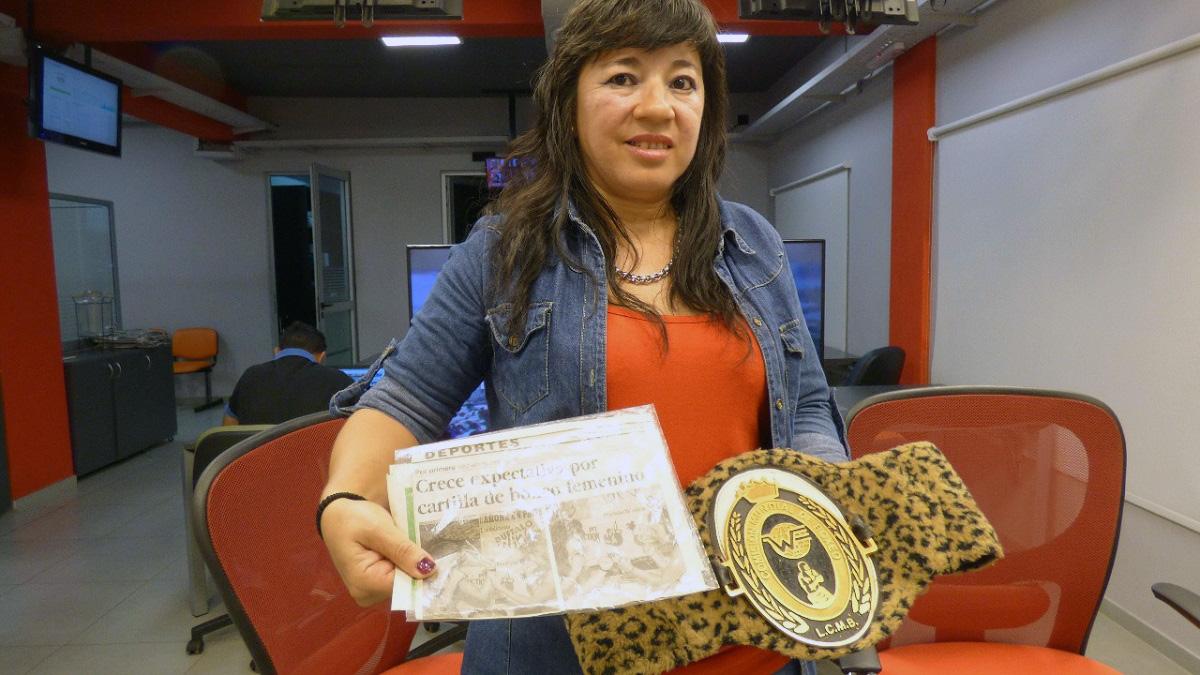 Lourdes González, la boxeadora misionera que afirma ser la primera mujer del país en pelear a nivel profesional