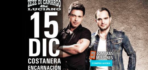 Zezé Di Camargo & Luciano se presentarán en Encarnación y Compras Misiones te vende las entradas en cuotas
