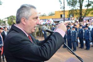 """""""Gracias a la gran obra de Andresito, somos misioneros y somos argentinos"""", afirmó Passalacqua"""