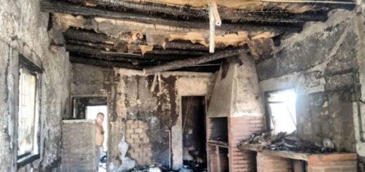 Tragedia en San Juan: quisieron hacer un asado e incendiaron la casa