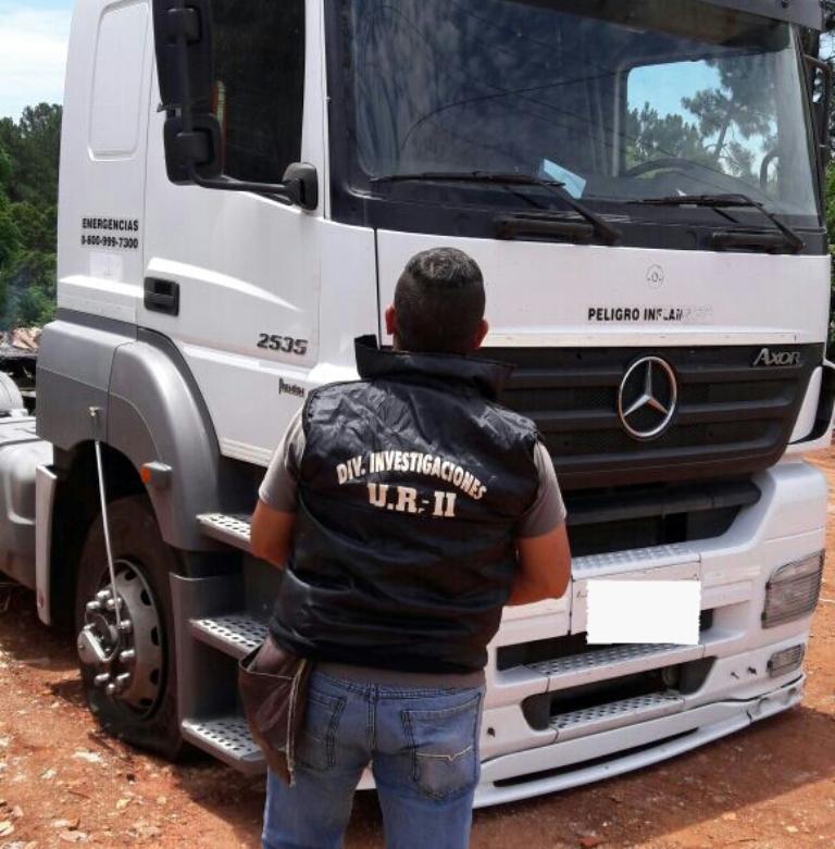 Guaraní: buscan a un gitano que ofrecía para vender un camión robado en Buenos Aires