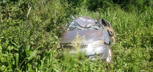 Despiste sobre la ruta 13 en El Soberbio dejó un fallecido