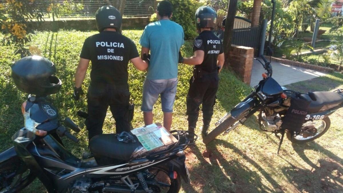 Vendió vía Facebook una moto robada  y fue detenido por la Policía