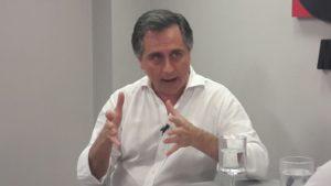 El empresario y concejal Diego Barrios afirmó que no es la misma situación del 2001 y aseguró que la devaluación terminará en 10 o 12%