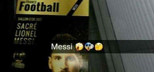 La supuesta tapa de France Football que revela que Messi ganará el Balón de Oro