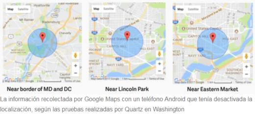 Mirá cómo Google registra la ubicación de los usuarios aún cuando la localización del celular está apagada