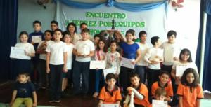 Ganadores del Encuentro de Ajedrez en Homenaje a Graciela Piris del Instituto Cooperativo de Educación