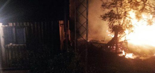 Se incendió una vivienda en en el barrio Unido de San Vicente e investigan si fue intencional