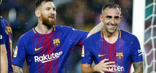 El Barcelona le ganó por 2 a 1 al Sevilla en el partido número 600 de Messi