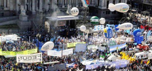 Miércoles con marchas y protestas contra el paquete de reformas de Cambiemos
