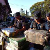 Secuestraron más de 15 kilos de marihuana en Puerto Libertad