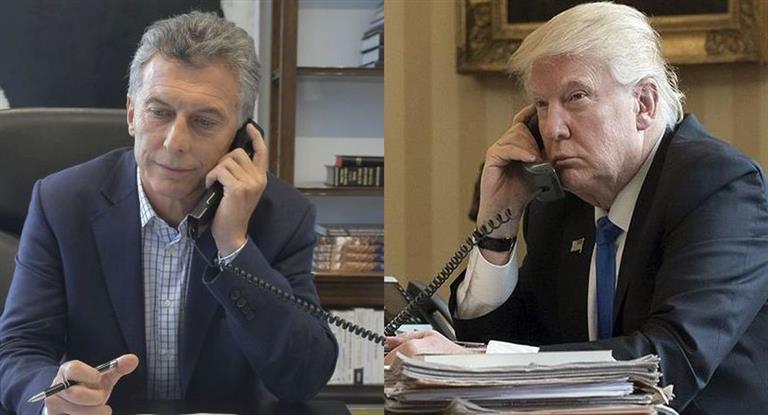 Trump llamó a Macri y le expresó sus condolencias por las víctimas argentinas en Nueva York