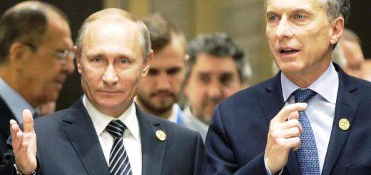 Putin ofrecerá a Macri ayuda para la búsqueda del ARA San Juan