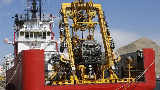 ARA San Juan: tras la demora, el minisubmarino de EE.UU. se suma a la búsqueda del navío