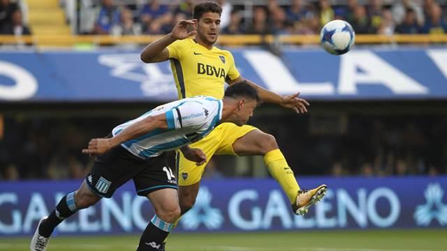 Superliga: Boca cae 2 a 1 con Racing en la Bombonera