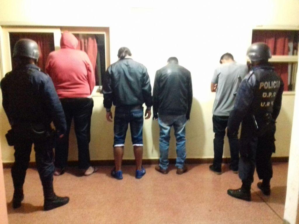 Vandalismo y narcomenudeo: hay cuatro detenidos que atemorizaban al barrio Fátima
