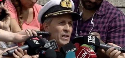 """""""Ya rastrillamos la mitad del área, sin resultados"""", dijo el vocero de la Armada sobre el Submarino desaparecido"""
