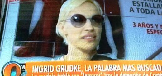 """Ingrid Grudke: """"Me enamoré de una persona, no soy víctima ni culpable. Fui su pareja pero hoy estamos separados"""""""