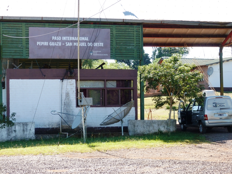 Paso Rosales: desde Migraciones aclaran que aún no se puede registrar allí la entrada a Brasil