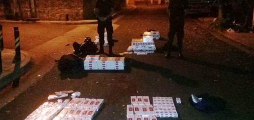 Contrabandistas en moto casi provocaron una tragedia y terminaron detenidos por la Policía en Posadas