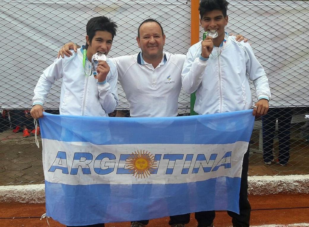 Alonso y Alvarenga sobresalieron en los  Juegos Sudamericanos Escolares