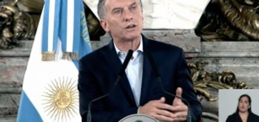 """Para Mauricio Macri """"hubo intencionalidad política"""" contra la reforma previsional"""