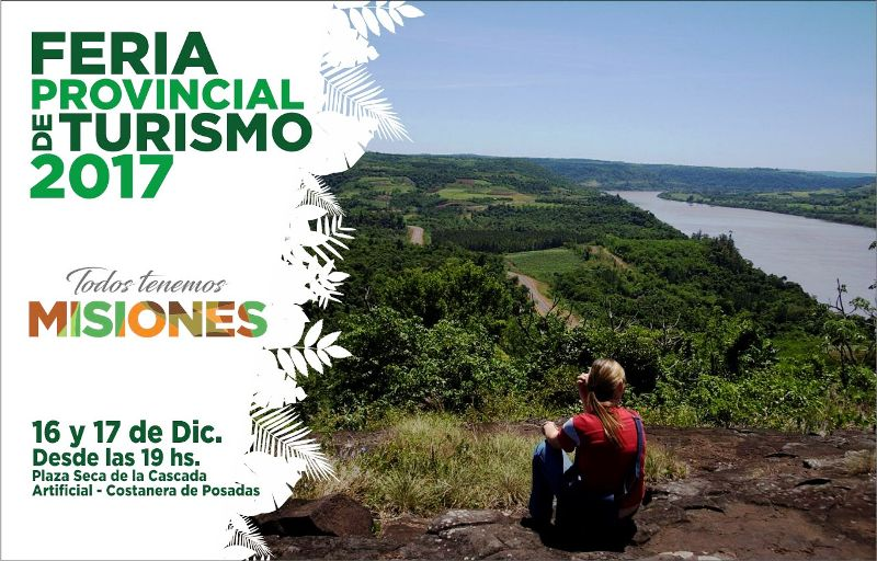 Misiones expondrá este fin de semana sus ofertas turísticas en la Costanera de Posadas