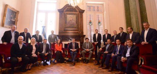 Gobernadores y el Jefe de Gobierno porteño expresaron su apoyo al proyecto de reforma previsional