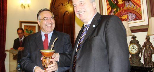 """Visita oficial: """"Con Santa Catarina tenemos muchas cosas para hacer en conjunto"""", remarcó Passalacqua"""