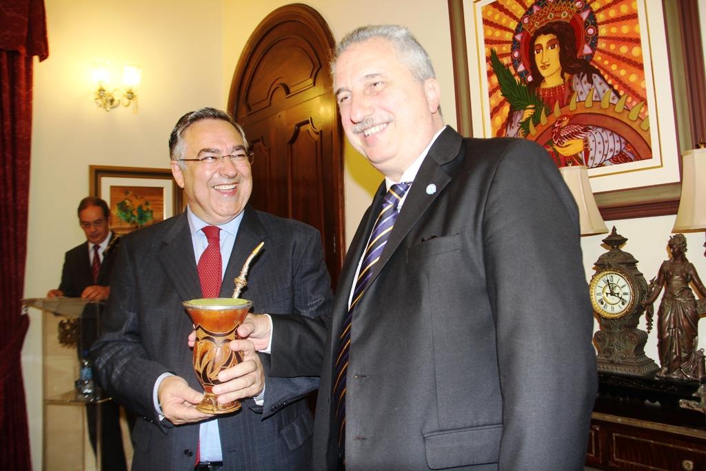 Visita oficial: «Con Santa Catarina tenemos muchas cosas para hacer en conjunto», remarcó Passalacqua