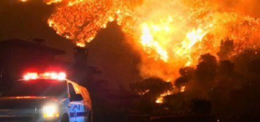 California enfrenta el tercer incendio forestal más grande de los registrados en la historia del Estado