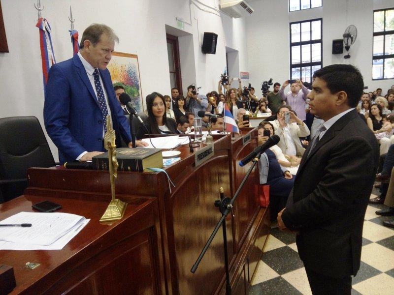 Por unanimidad Fernando Meza es el nuevo presidente del HCD de Posadas