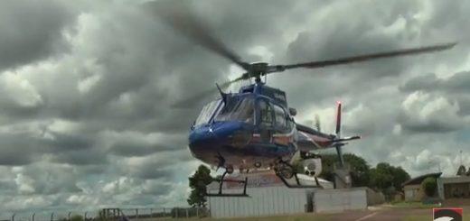 Posadas desde el aire: el helicóptero H125 ya está operativo y voló por primera vez con invitados especiales a bordo