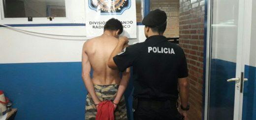 En Posadas un joven agredió a su papá de 69 años, destrozó la casa y fue detenido