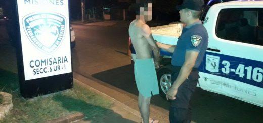 Posadas: borracho golpeó a su mujer y terminó preso