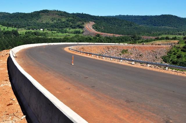 Ruta provincial N° 8: 25 de Mayo y Campo Grande unidas por el asfalto