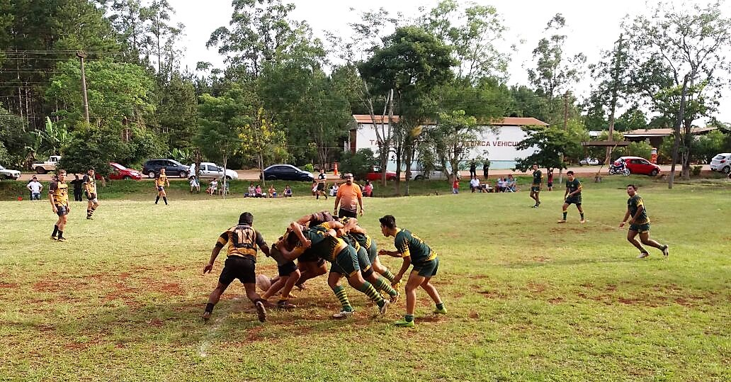 """Rugby: se desarrolló el segundo torneo """"Derribando Muros"""" y los internos de Eldorado obtuvieron el segundo lugar"""