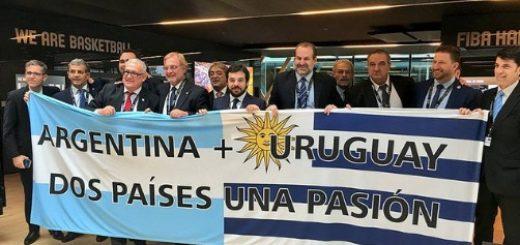 Básquetbol: Argentina y Uruguay tendrán la posibilidad de organizar el Mudial 2027