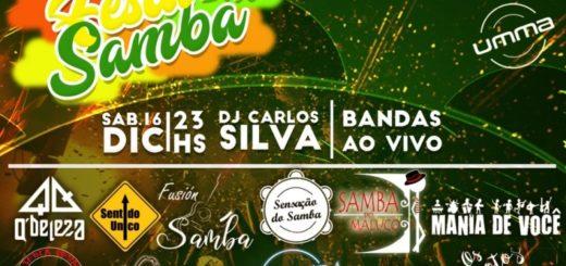 "Vivíun sábado a pleno en UMMA con la tercera edición de la ""Festa Do Samba"""
