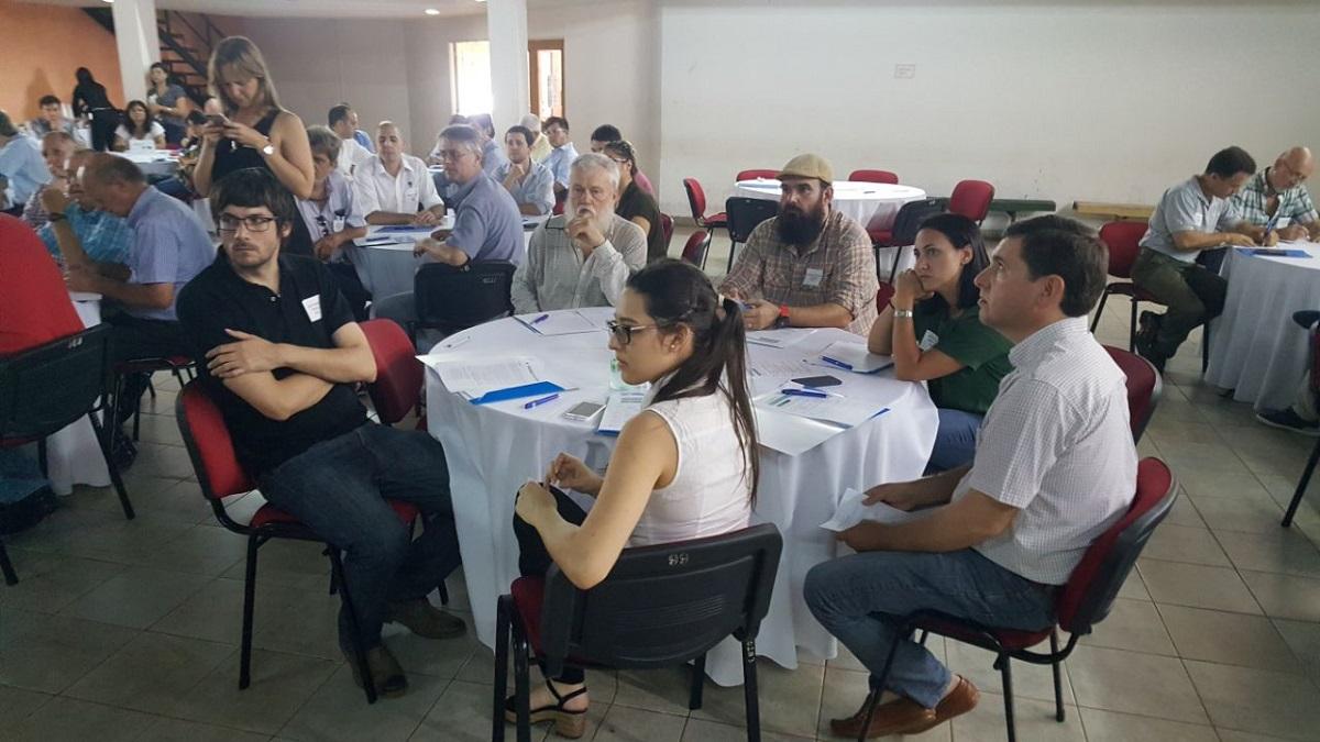 Misiones presentó el trabajo del Cluster tealero a Nación