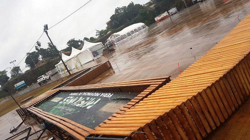 EMSA informó el estado del sistema interconectado tras la tormenta de ayer