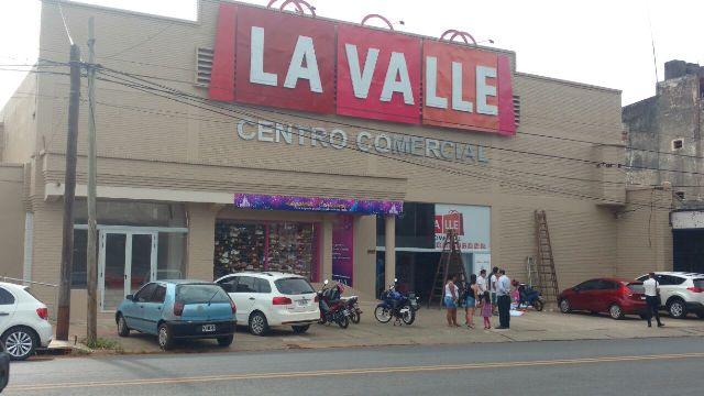 Comercial LAVALLE, hoy abre sus puertas el nuevo centro comercial de la ciudad de Posadas