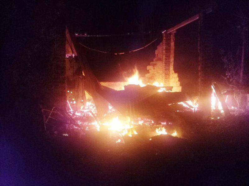 Garupá: se quemó una casa y hay una víctima fatal