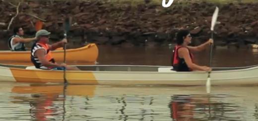 El municipio brinda clases gratuitas de canotaje en El Brete