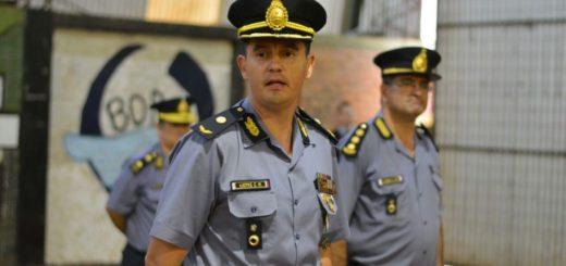 Asumió el comisario inspector Claudio Lüdtke como nuevo jefe de la Unidad Regional VI de la Policía