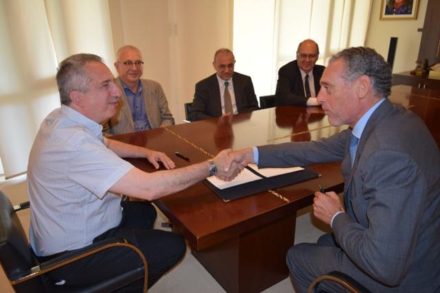 Passalacqua firmó convenio con la Eurocámara Argentina para cooperación industrial