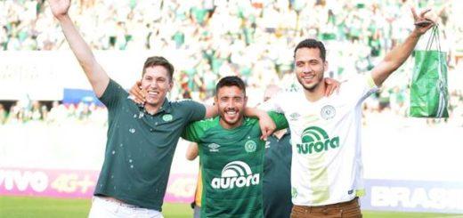 Chapecoense ganó con un gol en el último minuto y se clasificó a la Copa Libertadores