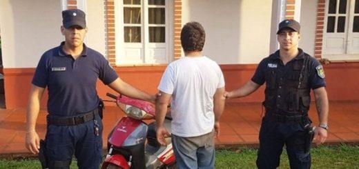 Ofrecía por Facebook una moto robada y lo detuvieron al descubrir que el rodado estaba en su casa