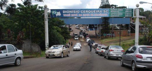 Paso de frontera: el único punto habilitado oficialmente para hacer la entrada a Brasil por Santa Catarina es Dionisio Cerqueira