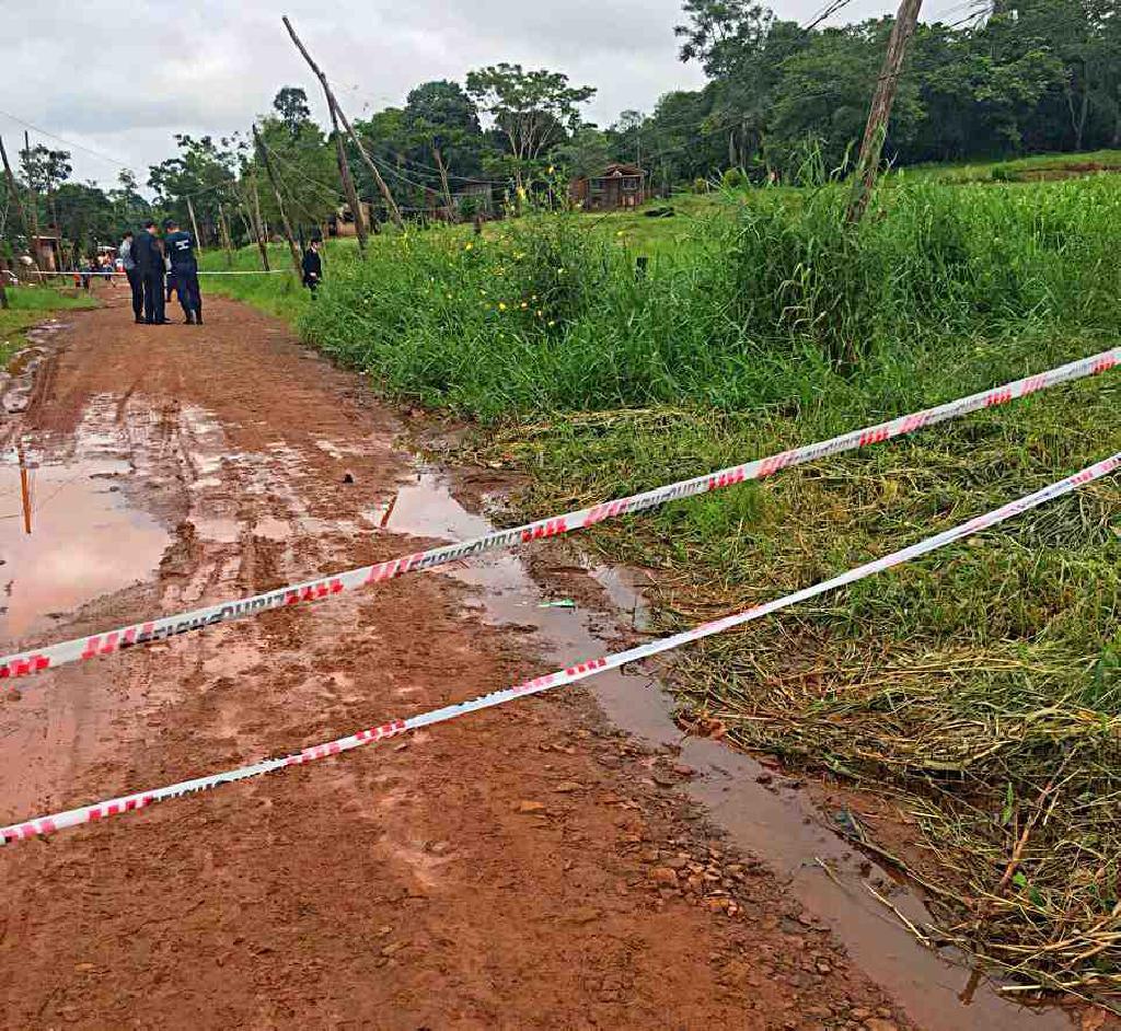 Iguazú: intentaba reparar un caño de agua y pereció electrocutado
